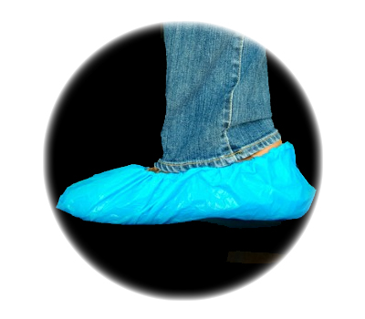 Polypropylene Laminated Shoe Covers