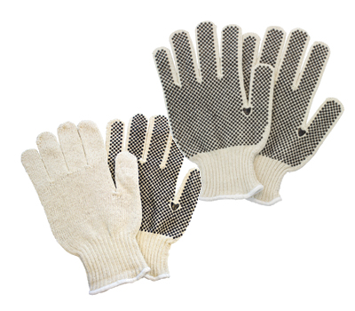 Cotton String Dotted Gloves