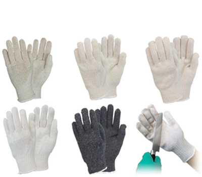 Cotton String Gloves Plain