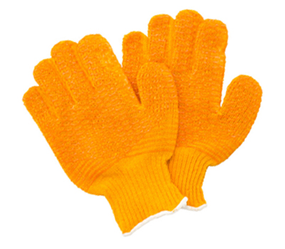 Cotton String Honeycomb Gloves