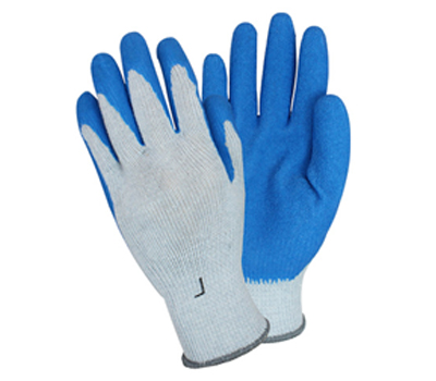 Heavy Latex-Coated String Knit Gloves