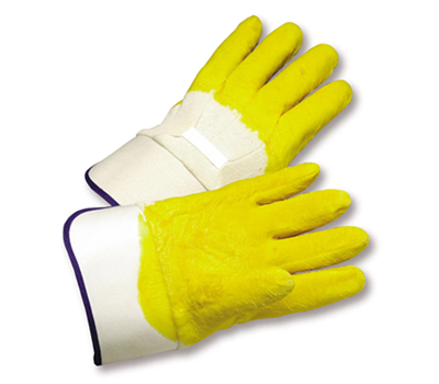 Rubber Palm-Coated Gloves