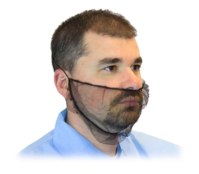 Soft Nylon (Fish Net) Beard Protectors