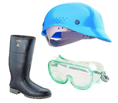 Caps, Goggles and Boots